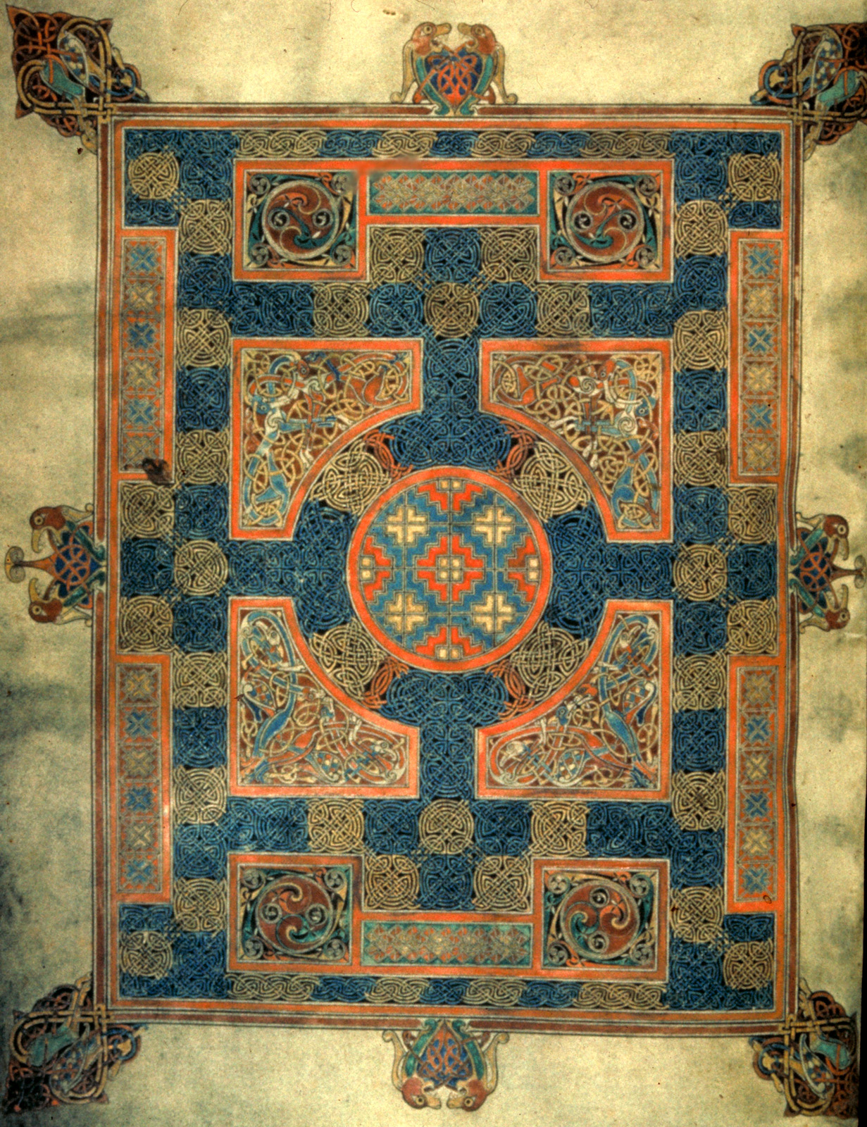 Lindisfarne Gospels Carpet Page Carpet Vidalondon